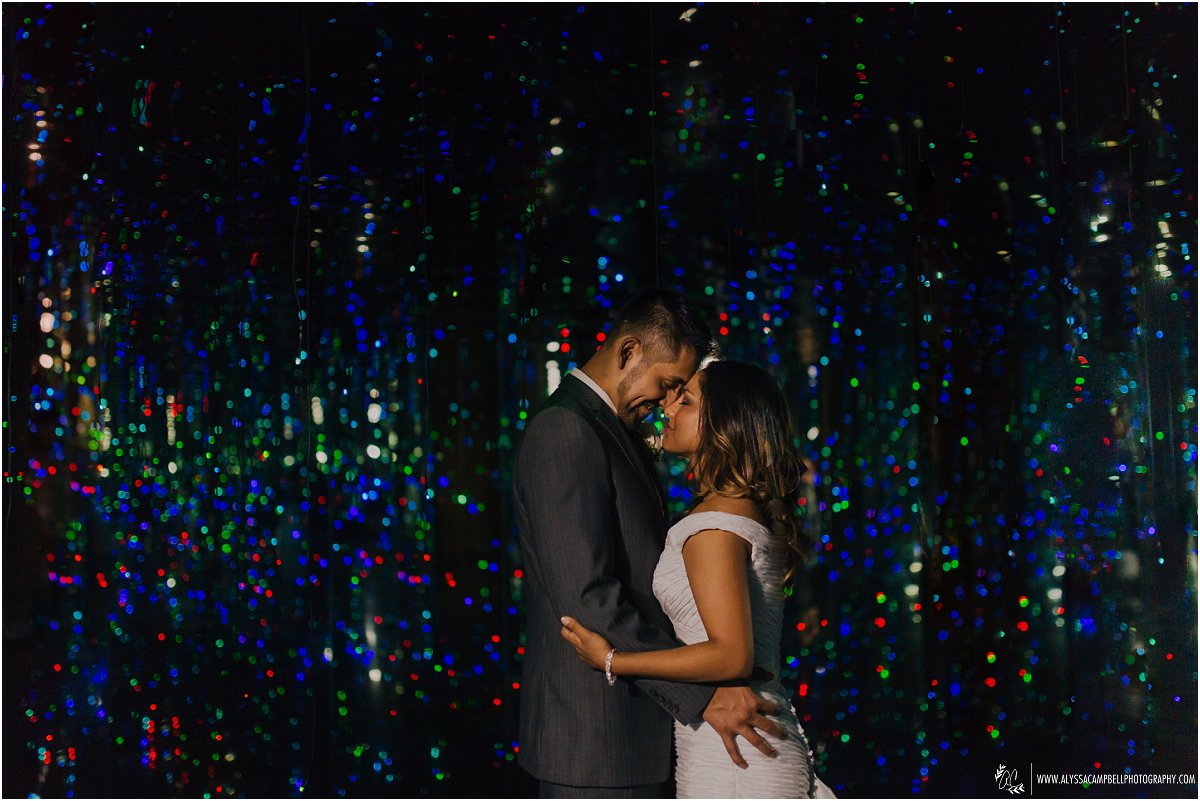 heartfelt amp fun phoenix art museum wedding javier